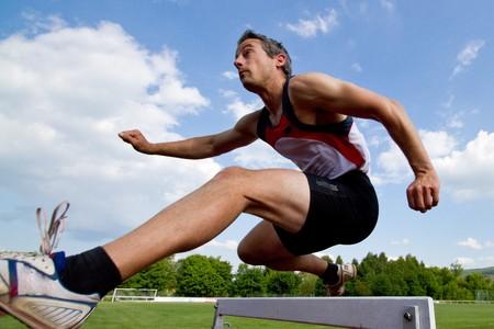 hurdles sprint photo