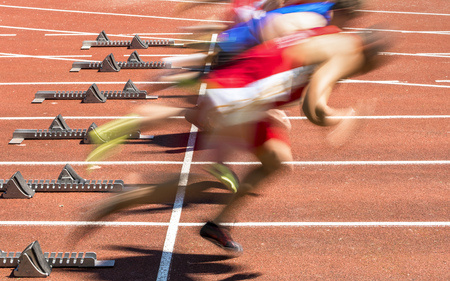 sportsman: Inicio de Sprint en pista y campo