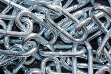 stell: Stell chain Stock Photo