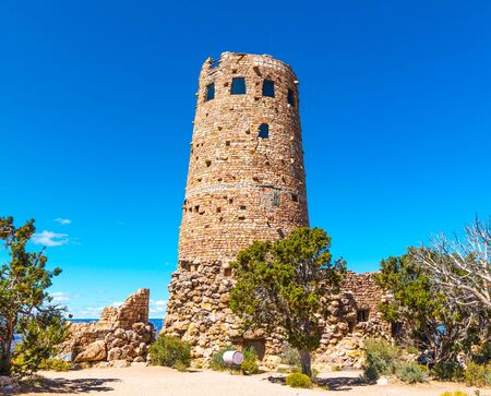 Tower on Grand Canyon Arizona