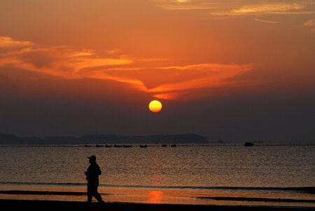 sunup: The beautiful sunup in the asia