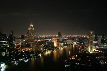 bangkok by night Stock Photo - 12622865