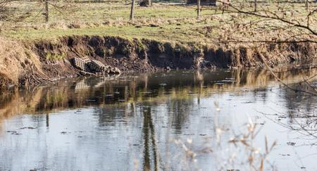 derrumbe: Rompió la costa en invierno