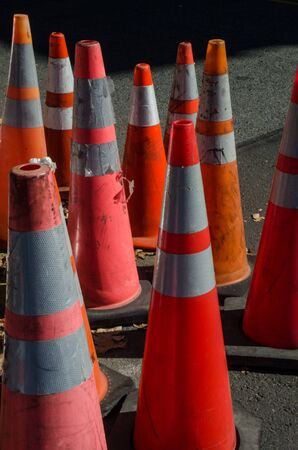 grouping: Traffic cones