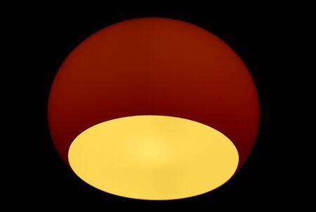 mood moody: Red globe lamp