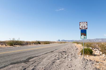 Route 66 the Mother Road, California, Arizona, USA