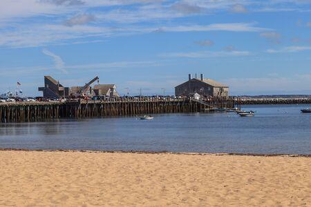 cape cod home: Provincetown, Massachusetts, Cape Cod beach and pier.
