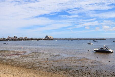 cape cod home: Provincetown, Massachusetts, Cape Cod beach with boats