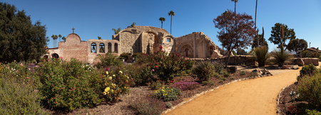 San Juan Capistrano, CA, USA —September 25, 2016: The Mission San Juan Capistrano in Southern California, United States. Editorial use only.