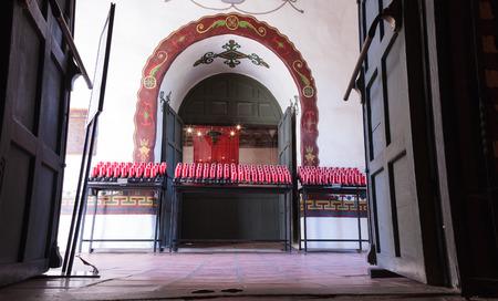 San Juan Capistrano, CA, USA —September 25, 2016:  Serra Chapel at the Mission San Juan Capistrano in Southern California, United States. Editorial use only. Editorial