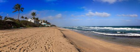 Sands of Hillsboro Beach in Pompano Beach, Florida.