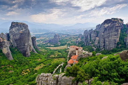 The Holy Monastery of Rousanou/St. Barbara. Meteora, Greece.