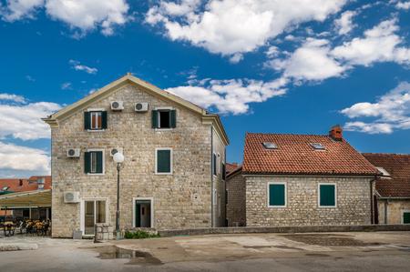 touristic: Old town - historical and touristic center of Herceg Novi. Montenegro