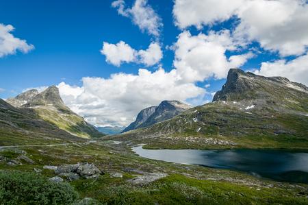 Scandinavian mountain plateau. Stock Photo