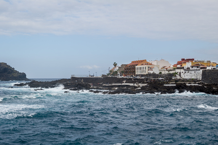 Piscinas Naturales at Garachico, Tenerife Stock Photo - 114302257