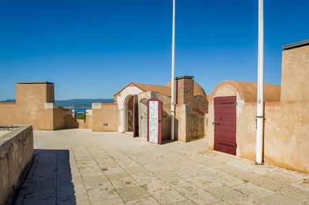 Museum of maritime history in Saint-Tropez. Provence Cote d'Azur, France. Stock Photo - 114302218