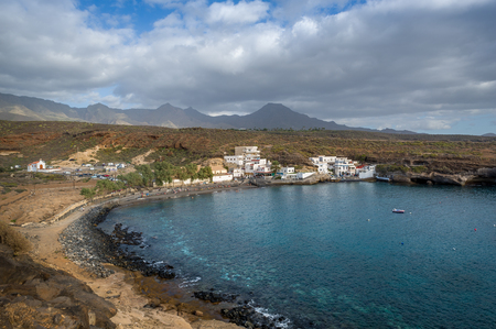 El Puertito, diving and snorkeling spot, Tenerife, Canary islands. Stock Photo