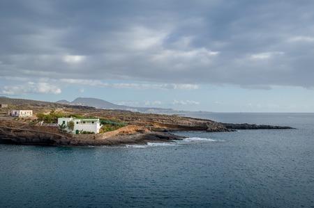 El Puertito ocean view, Tenerife, Canary islands.