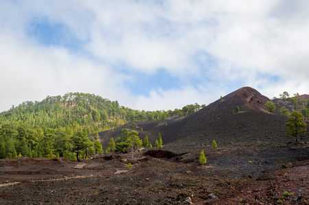 Volcanic landscape of Teide national park. Tenerife island, Spain. Stock Photo