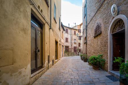 Volterra old town walk