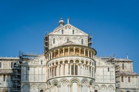 Duomi di Pisa front view