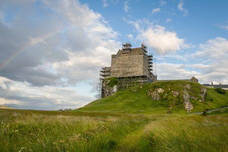 Duart Castle restoration