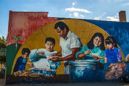 murals: Murals in Pilsen, Chicago