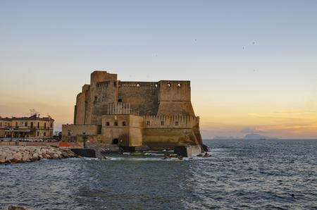 A view of Castel dell Ovo photo