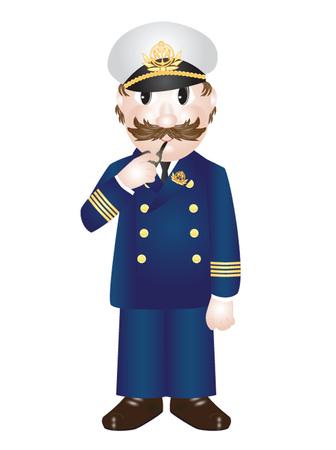 capitan de barco: Capit�n de Nav�o