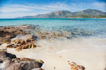 bohol: Desert seascape in a sunny day - Sardinia