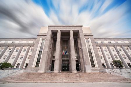 courthouse: Courthouse in Cagliari - Sardinia
