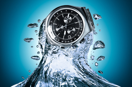 resistant: Watch water resistant