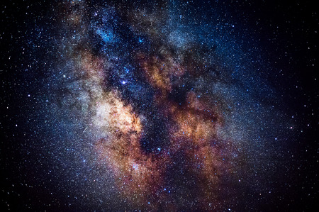 stars: the center of the milky way galaxy