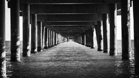 Pier perspective photo