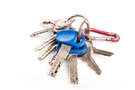 Bunch of keys Фото со стока