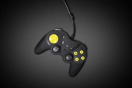 Analog Joypad with yellow fluo buttons