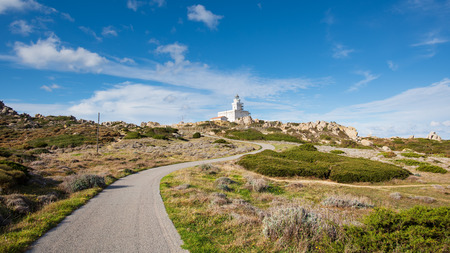 capo: The road to the Lighthouse at Capo Testa - Santa Teresa di Gallura, Sardinia
