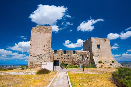 san michele: Medieval castle inside a big city park