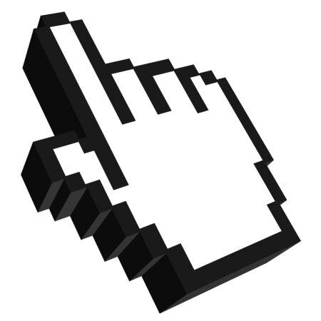 mano_interattiva�stegrim Stock Vector - 18610553