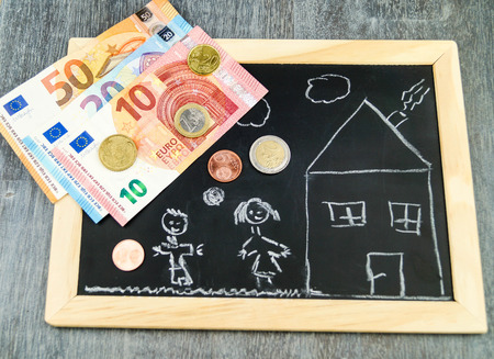 Housing Child benefit Stock Photo
