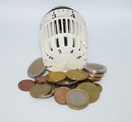 Heating bills - heating costs 写真素材