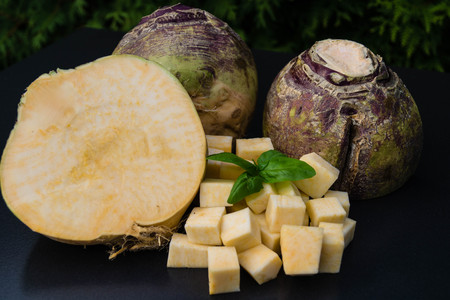 turnip rutabaga brassica napus Фото со стока