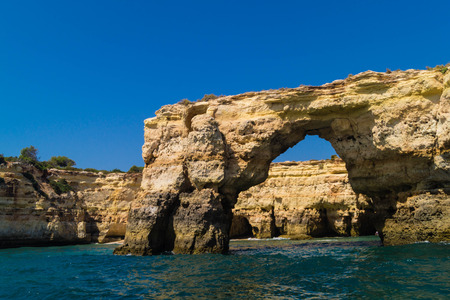 coastline Algarve Portugal