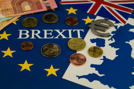 Brexit - Great Britain wants to leave the european community Stock Photo
