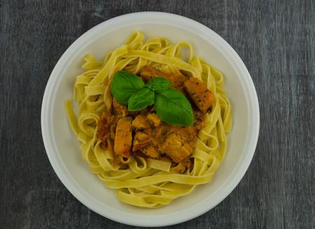 Tagliatelle al Salmone? special italian pasta with salmon