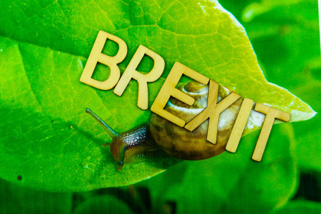 Brexit - Great Britain wants to leave the european community Imagens