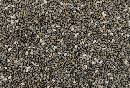 chia seeds of the plant salvia hispanica