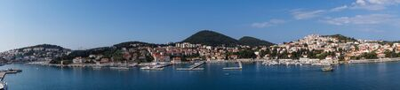 Dubrovnik from the perspective of the cruise terminal