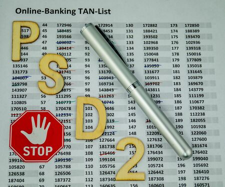 PSD2 - Payment Services Direct- ment two - the end of TAN lists