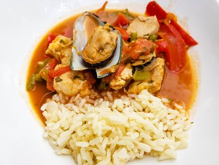 Portuguese fish and seafood specialties Imagens